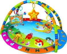 Baby Playmat, Play Gym, Musical Activity Gym stunning Happy Angel Inside Out Toys http://www.amazon.co.uk/dp/B00F6ZTF0A/ref=cm_sw_r_pi_dp_ILAvwb0AVX1KN