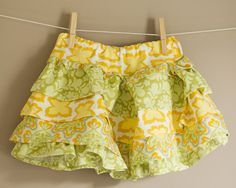 Girl's Skirt Pattern PDF Sewing - The Emma Skirt Size 18m-5T. $7.00, via Etsy.