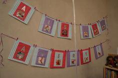 ...diy birthday scrapbook banner...
