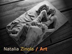 "escultura ceramica titulda ""O Amor """