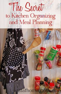 Need inspiration on organization and meal planning? Read this!