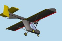 ultralight aircraft plans | HOOPPER is an ultralight single place airplane for fun flying. Large ...