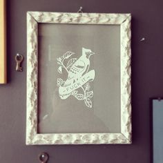 Fuck It By Zoe Maire https://www.facebook.com/zoemairepc Paper cutting- blue jay- fuck it- picture