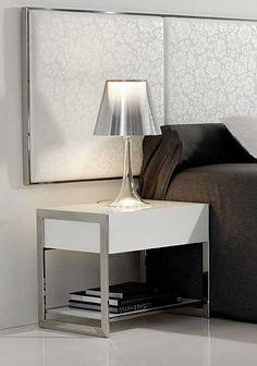 Muebles COSAS de ARQUITECTOS: Mesita de Noche Abda - Mesas de Noche de Diseño - Muebles de Diseño