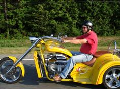 V8 Chopper Trike !