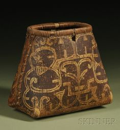 Northeast Birch Bark Container | Seneca, first half 19th century