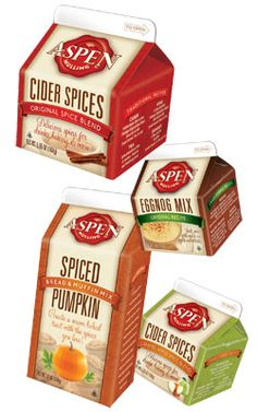 Shop for Aspen Spices Products | Original Mulling Spice Blend, Caramel Apple Spice, Cinnamon Orange, Chai, Hot Cocoa, Hot Buttered Rum, Egg Nog, Muffin Mixes, Chocolate Fudge Mix and Much More!