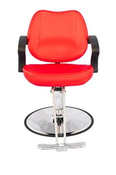 Exacme Classic Hydraulic Barber Chair Salon Beauty Spa Styling Red 8801
