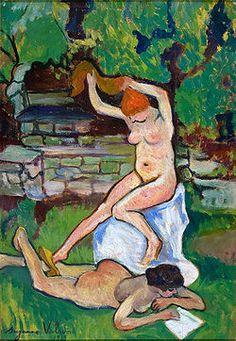 Nus (1919). Obra de Suzanne Valadon