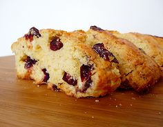 Cranberry-White Chocolate Almond Biscotti | Brown Eyed Baker