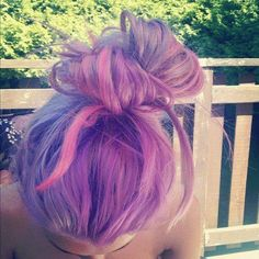 Find images and videos about hair and purple on We Heart It - the app to get lost in what you love. Pastel Hair, Purple Hair, Ombre Hair, Hair Chalk, Heart Hair, About Hair, Cute Hairstyles, Hairdos, Dyed Hair
