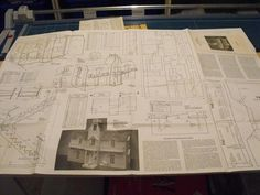 Victorian Dollhouse Plans   ANH1155 - Victorian Dollhouse Vintage Woodworking Plan.