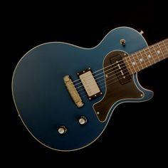 Nik Huber Krautster II Guitar- Worn Petrol Blue
