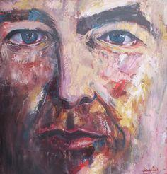 "KJH  Oil on Canvas 24 x 24"" 2014"