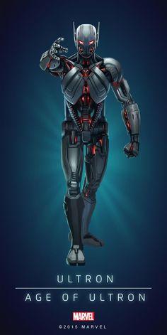 Ultron (Age of Ultron) - Poster 01 Ultron Marvel, Marvel Comic Universe, Marvel Comics Art, Marvel Heroes, Marvel Avengers, Ultron Comic, Best Avenger, Marvel Cards, Mundo Marvel