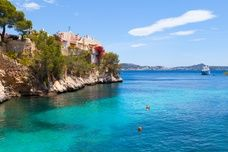 Cala Fornells View in Paguera, Majorca, Spain.