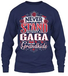 GAGA AND HER GRANDKIDS ~ Tees and Long-Sleeves