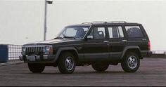 My other 80s vehicle - 88 Jeep Cherokee Laredo.