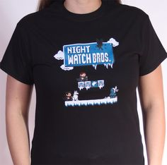 Game of Thrones Shirt on the redditgifts Marketplace...Mario and GoT - I love some nerdymashups! #redditgifts