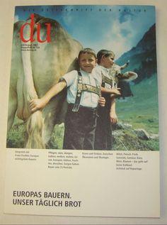 Du 728 | Juli 2002 Europas Bauern. Unser kaufen auf ricardo.ch
