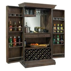Howard Miller Monaciano Wine U0026 Bar Cabinet 695 168   Home Bars USA   1