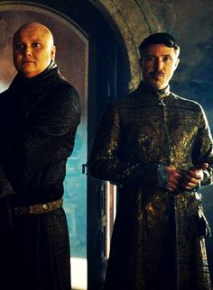 Littlefinger and Varys. Love the expressions. By deisegal.