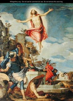 Resurrection of Christ, 1570-75 - Paolo Veronese (Caliari)