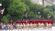 Yankee Doodle march down Pennsylvania Avenue, part of the National Independence Day Parade each summer.