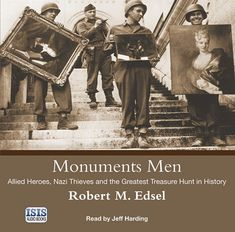 Robert M. Edsel - Monuments men. As Hitler was attempting to conquer the western world, his armies were methodically pillaging the finest art in Europe, from Michelangelos to Vermeers, all stolen for the Führer. The Monuments Men had a mandate from President Roosevelt, but no vehicles, typewriters, or authority. In a race against time to save the world's greatest cultural treasures from destruction at the hands of Nazi fanatics, each man constructed his own treasure map. Battle Of Monte Cassino, Monument Men, Father Ted, War Dogs, Western World, Treasure Maps, Nonfiction Books, World War Two, Monuments