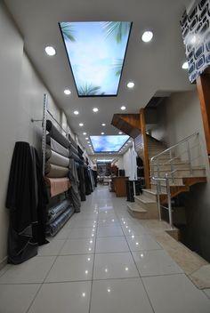 Pvc gergi tavan Gergi tavan sistemleri Germe tavan kaplaması Aydınlatma sistemleri, Barisol tavan aydınlatma.