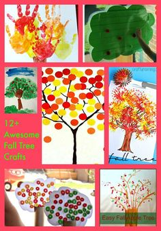 45 Fall Tree Crafts That Are Gorgeous For Kids To Make Craft Ideas