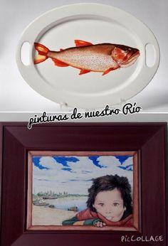 """Colección """" ecos de mi tierra """" pintado a mano sobre porcelana; diseño propio"""