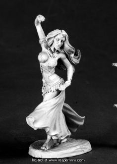 Reaper Miniatures :: Miniatures Nalani; Dancing girl (Could be used as gypsy type, or hero, or villainess)