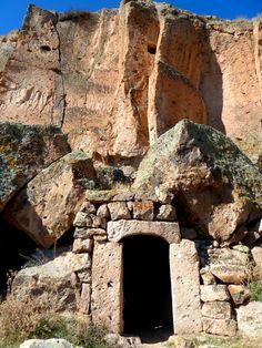 Mazi- underground city in Turkey