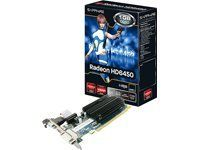 RADEON HD 6450 - Grafikkarten by Sapphire Technology. $73.40. The Radeon HD 6450 graphics card from Sapphire features a 625 MHz chipset with a memory of 1GB.With AMD HD3D built-in, enjoy a 3D experience in HD. With 2D images, benefit from the illusion of depth in 3D with compatible screens, glasses and software.With the Sapphire HD 6450, the latest generation of games can be seen in DirectX 11 with a maximum rate of frames per second.