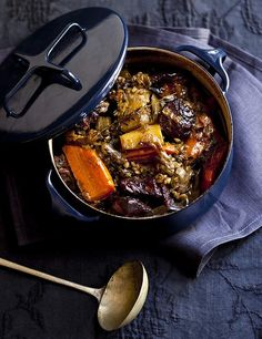 One-pot wonder: Karen Martinis braised lamb stew with barley and vegetables. a href=http://www.goodfood.com.au/good-food/cook/recipe/braised-lamb-stew-with-barley-and-vegetables-20130603-2nl0w.html?rand=1370295569750b(Recipe here)./b/a