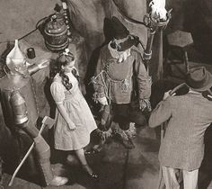 Wizard of Oz on the set
