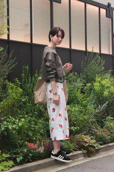 ストリートスナップ原宿 - 岡田 千裕さん - adidas, COMME des GARÇONS, GINGER ALE, TOGA