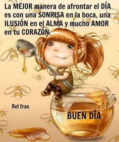 Good Night Wishes, Good Morning Good Night, Good Day Messages, Good Morning Facebook, Motivational Phrases, Happy Day, Life Quotes, Words, Spanish