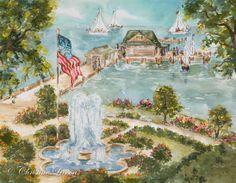 Christine Linson Fairhope Pier & Fountain
