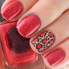 I love the nails Cheetah Nail Designs, Shellac Nail Designs, Cheetah Nails, Pointy Nails, Pretty Nail Designs, Get Nails, How To Do Nails, Hair And Nails, Beautiful Nail Art