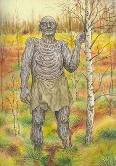 Железный человек — в фольклоре Полесья мифический железный великан, живущий в болоте или заболоченном лесу и охраняющий свою территорию от посягательств и незваных гостей
