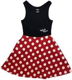 Disney Women Junior Minnie Mouse Dress Red Small * Visit the image link more details. (This is an affiliate link) Light Up Dresses, Nice Dresses, Short Dresses, Dresses With Sleeves, Cosplay Dress, Sexy Party Dress, Overall Dress, Junior Dresses, Dress Brands