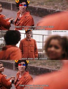 Sollux XD they would say this no doubt in my mind its so perfect i am dying right now!