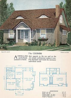 1928 Home Builders Catalog - The Coombs | From the collectio… | Flickr