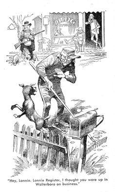 William Price Fox, Jack Davis, Southern Fried – Shrine of Dreams Hillbilly Elegy, Jack Davis, Best Profile, Mustang, Spiderman, Southern, Fox, Cartoon, Caricatures