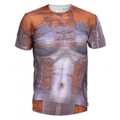 CYBORG Koszulka T-Shirt Full Print 3D Krótki Rękaw