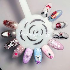 Chistmas Nails, Xmas Nails, Nail Art Galleries, Winter Nails, Sims, Vsco, Hair Beauty, Christmas, Ideas