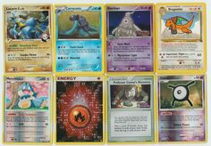 #Pokemon lot of 8 cards WITH RARES ALL PICTURED Not Perfect with #Lucario GL 8/111 Pokemon Tcg Cards, Pokemon Go, Christmas List 2016, All Pictures, Mystery, Fishing, Places, Kids, Ebay