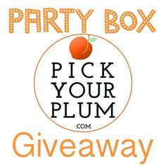 Oh yeah, it's giveaway time! This time we're giving away a box FULL of awesomeness to help you throw a party! The box is worth $100!!  Go here to enter --> https://gleam.io/xbJyG/time-to-party-valued-at-over-100